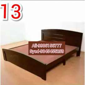 Mini double cot 4 X 6 without storage 4250