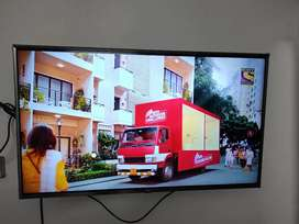 LG UHD 43 inch with extended warranty upto February 2023