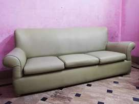 3+2 Sofa set available with Leather Ride Poshing.