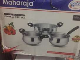 Deluxe maharaja cookware set