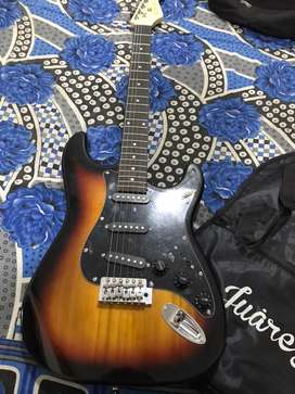 Electric guitar in new condition..