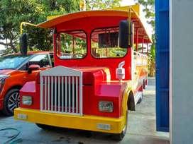 BT jual kereta mini wisata mesin kijang ful lampu hias promo 1jt