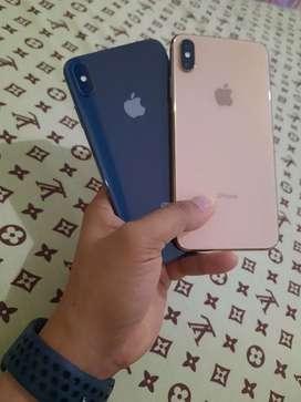 Iphone xs max 64 ibox resmi lengkap nota