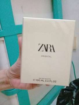 Parfum ZARA msh baru disegel dgn dus