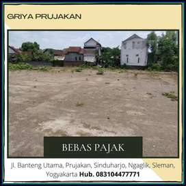 Paling MURAH Siap Bangun Barat Jl Kaliurang , Siap AJB, Free Bea Notar