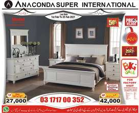DOUBLE BED SET ] SINGLE BED SET AND SOFA SET WOOD| FURNITURE FACTORY