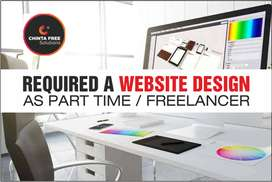 Required a Website Designer as Part Time / Freelancer