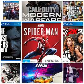 ALL PS4 GAMES AVAILABLE AT DISCOUNTED PRICES.