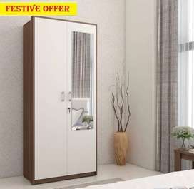 Caspian Furniture :- 2 door new wardrobe from factory to your ho
