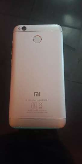 Redmi 4 with it's original charger