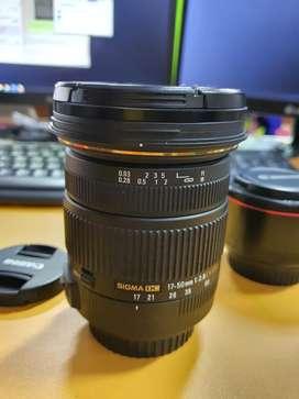 [Nego suka²] SIGMA 17-50mm f2.8 Canon