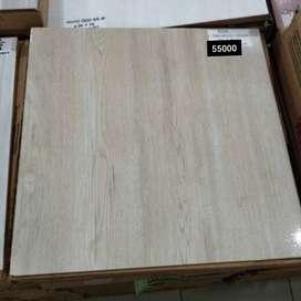 Lantai Keramik Asia Oakwood Cream 40 x 40
