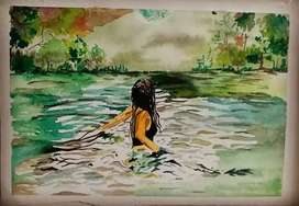 Painting water color