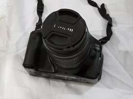 canon 600D with 18-55mm lens,..