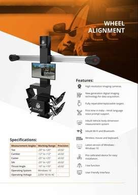 M-KAT 3D Wheel Alignment