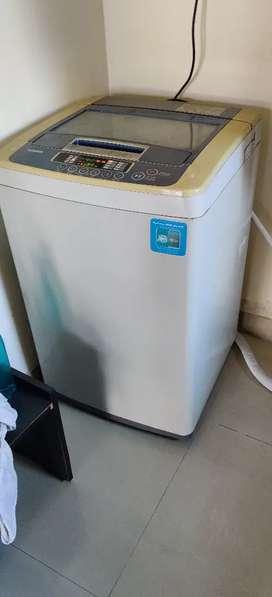 Top load LG washing machine fuzzy logic 6.3 KG