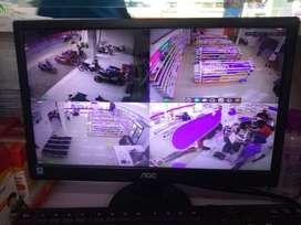 cctv 4 kamera hikvision muraaaaaah
