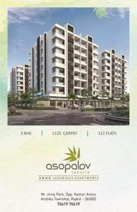 Asopalav luxuria 3 bhk