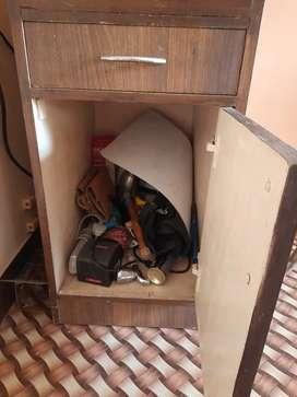 Wooden storage drawer