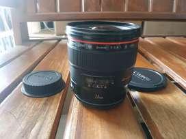 Canon EF L 24mm. F1.4 II USM. Kode UY.