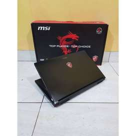 laptop gamer MSI GP 62 like new