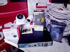 Paket kamera CCTV Hikvision turbo HD