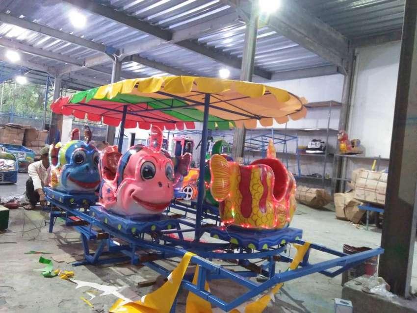 ERV 04 kincir mainan usaha kereta mini panggung odong 0