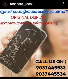 WE CHANGE GLASS BROKEN SMARTPHONES WITHOUT CHANGING ORIGINAL DISPLAY