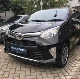 Toyota Calya 1.2 G A/T 2017 HITAM
