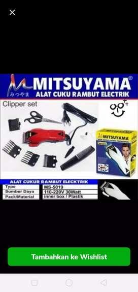Alat cukur rambut listrik mitsuyama