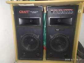 Dijual Sound system/speaker craft