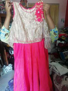 Gown of 10 years old girl