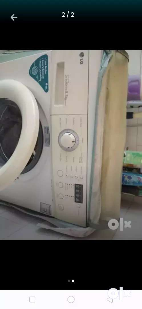 It's  a 7 years old front  load washing matchine 0