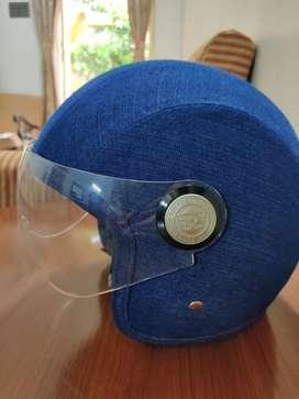 NEW Royal Enfield Classic Denim helmet (UNUSED)