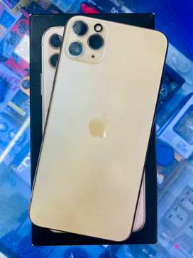 IPhone 11pro max 64GB gold colour