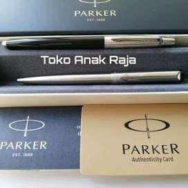 Paket Parker Koleksi 1 1 pc JotterBlack Bp + 1 pc Vector Stainless Bp