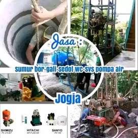 Ahli Pembuatan SUMUR BOR jasa sedot wc saluran Mampet servis pompa air