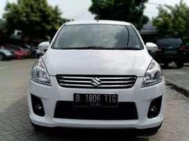 Suzuki Ertiga GL AT 2014 Putih Solid Sangat Bagus