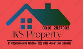 Phase 4 Ghauri town Plot for sale size 7 Marla