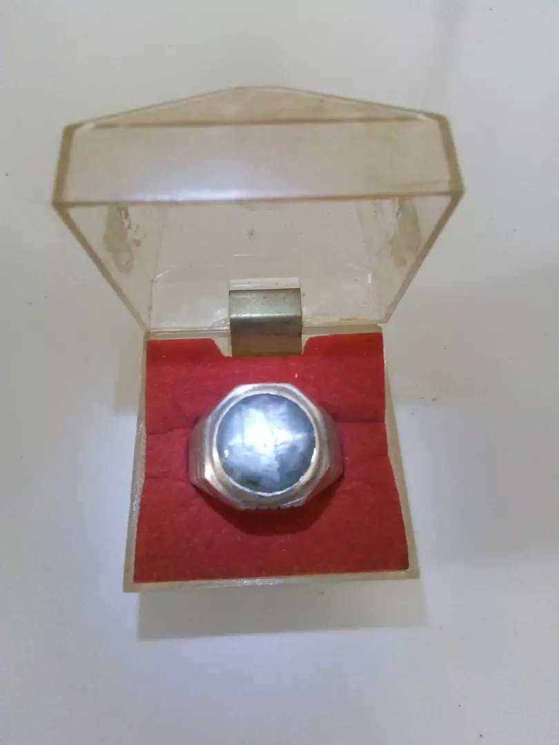 Natural Blue Sapphire Star Ring Perak