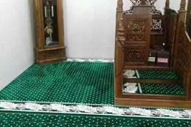 Karpet masjd tebal dan empuk premium pasang Klaten
