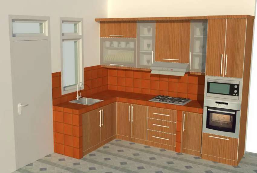 Menerima pemesanan kitchen set minimalis harga murah