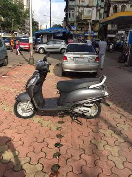 Suzuki access 125 grey.2018 end.1st owner.good condition at SS MOTORS