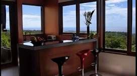 Disewakan bulanan harga special villa ocean front  3kmr di uiuwatu