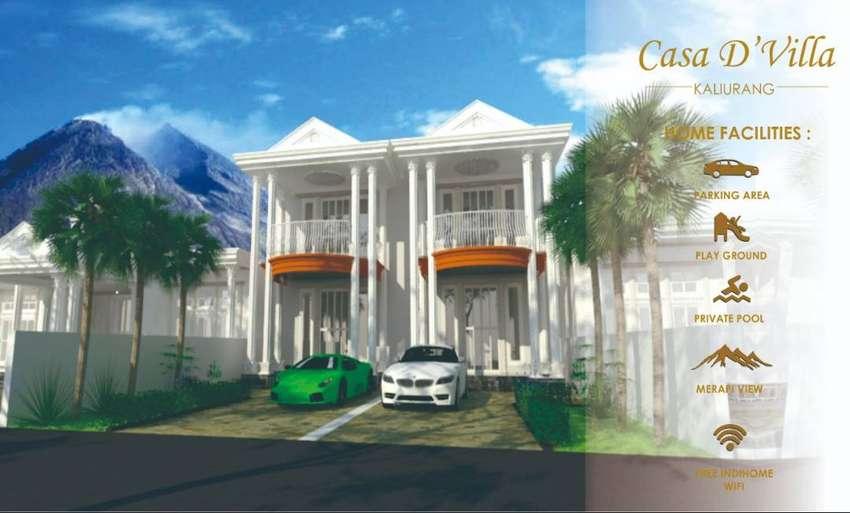 Rumah Mewah Siap Bangun design exlusive,privacy dekat UII 0