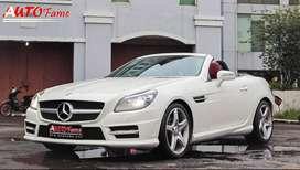 Mercedes Benz SLK250 AMG CBU 2012 Km 15Rb White On Black Persis Baru!!