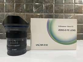 Dijual Lensa Laowa 15mm f2 for Sony Fullframe