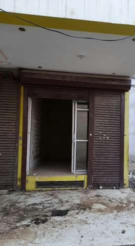 Shop for rent with basement