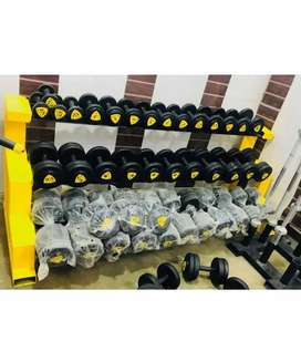 Gym Dumbbell plates manufacturing