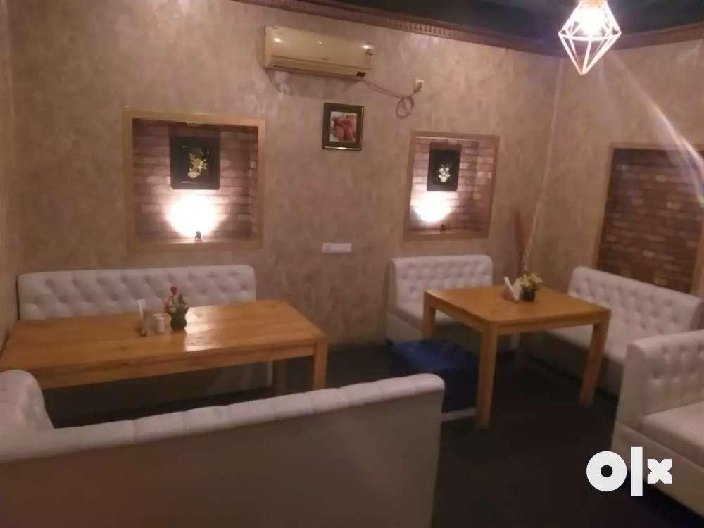 full furnished restaurants at dum dum with entire setup for sale